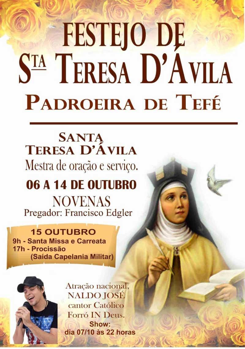 Festejo de Santa Teresa – De 06 a 14/10