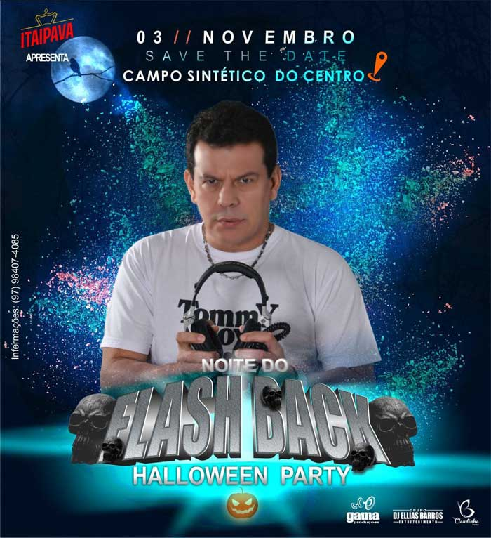 NOITE DO FLASH BLACK – HALLOWEEN